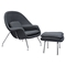 Saro Upholstered Chair - Charcoal Gray - NYEK-225510