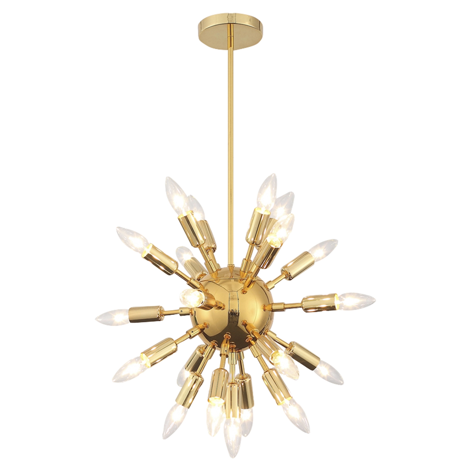 Astrid Mini Chandelier - Gold