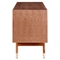 Niels Walnut Credenza Buffet Table - NYEK-445531M