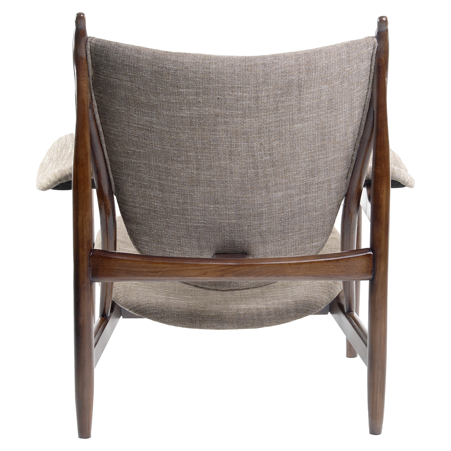 Arne Button Tufted Armchair - Light Taupe - NYEK-445550