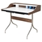 Liam Desk - Walnut and Blue - NYEK-445575-C