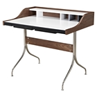 Liam Desk - Walnut and Gray