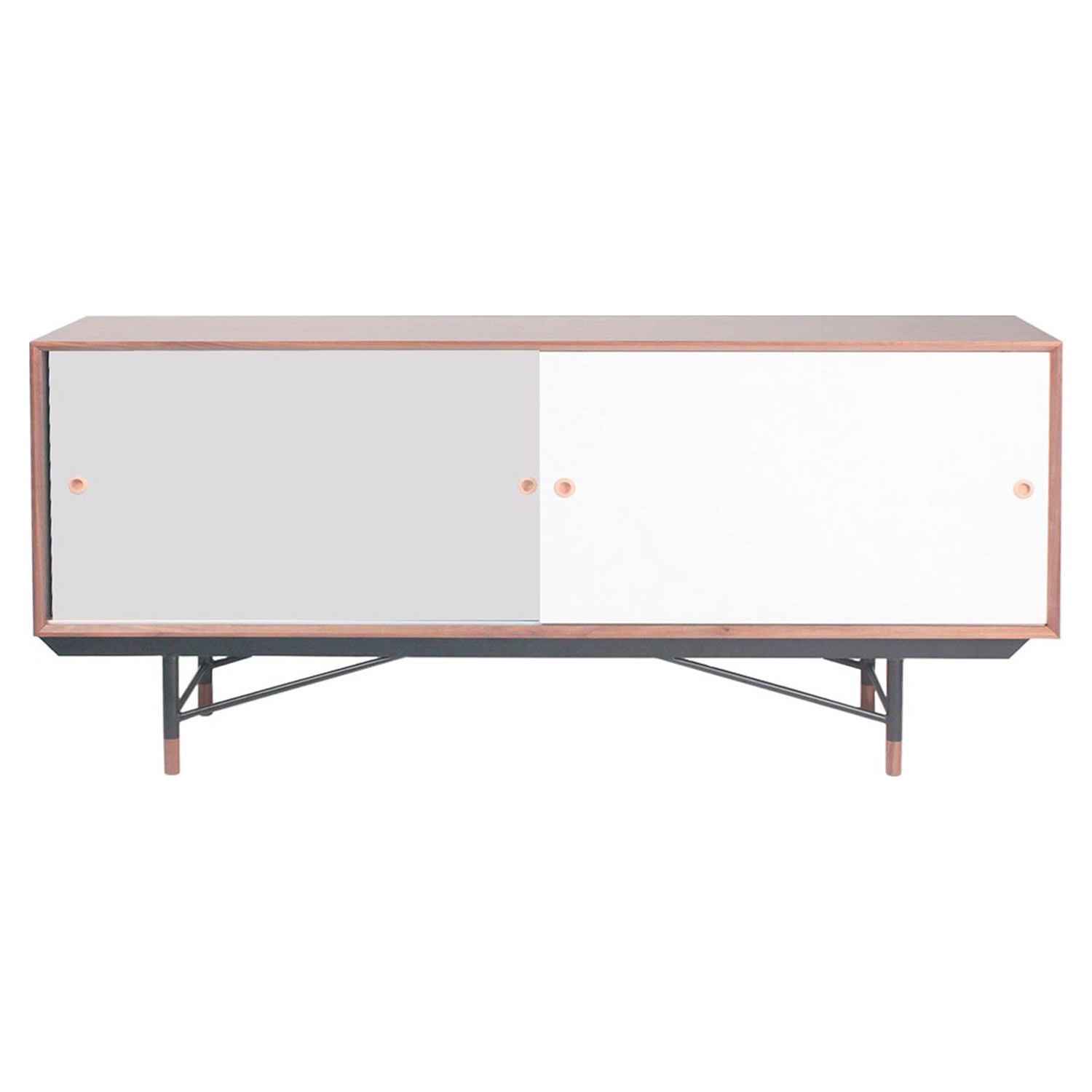 Soren Sideboard - Walnut and Gray