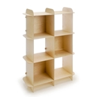 Ply Grid Vertical Shelf