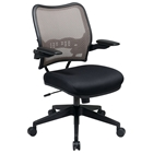 Space Seating 13 Series Deluxe Latte AirGrid Back Office Chair