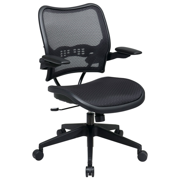 Space Seating 13 Series Deluxe Full AirGrid Office Chair with Cantilever Arms