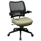 Space Seating 13 Series Deluxe AirGrid Back Office Chair with Cantilever Arms