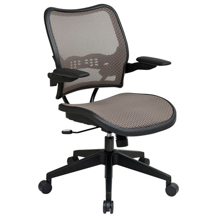 Space Seating 13 Series Deluxe Latte AirGrid Office Chair