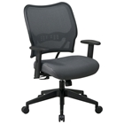 Space Seating 13 Series Deluxe Charcoal VeraFlex Office Chair