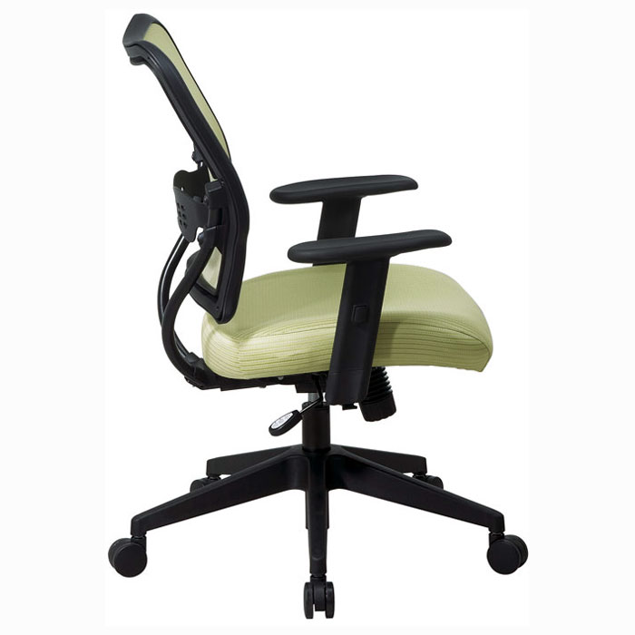 Space Seating 13 Series Deluxe Kiwi VeraFlex Back Office Chair - OSP-13-V66N1WA