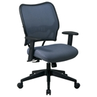 Space Seating 13 Series Deluxe Blue Mist VeraFlex Office Chair