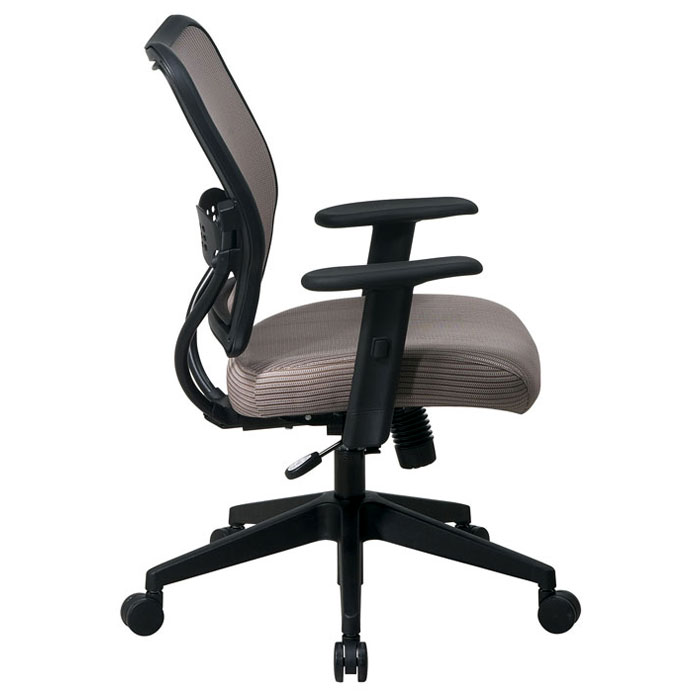 Space Seating 13 Series Deluxe Latte VeraFlex Back Office Chair - OSP-13-V88N1WA