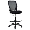 Space Seating 15 Series Big Man's Dark Double AirGrid Back Drafting Chair