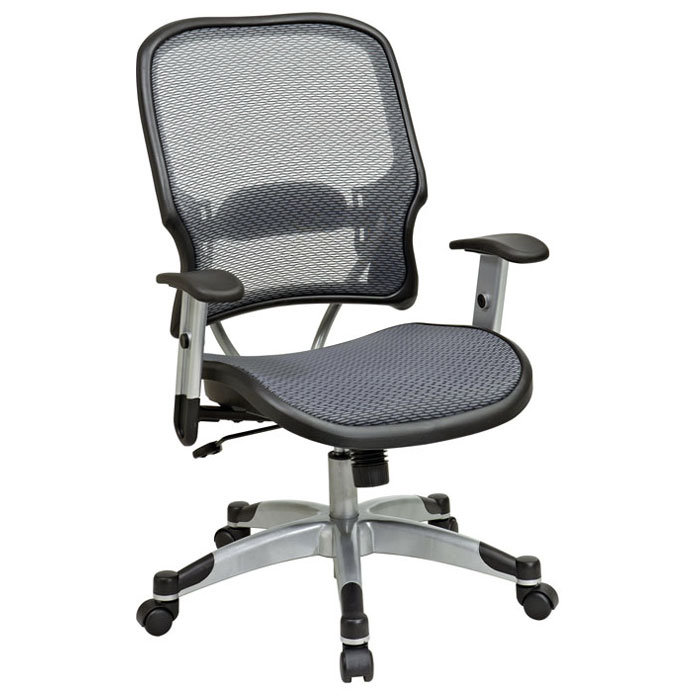 Space Seating 15 Series Professional Light AirGrid Manager's Chair - OSP-15-66C615R