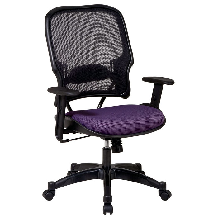 Space Seating 15 Series Professional AirGrid Back and Fabric Seat Manager's Chair