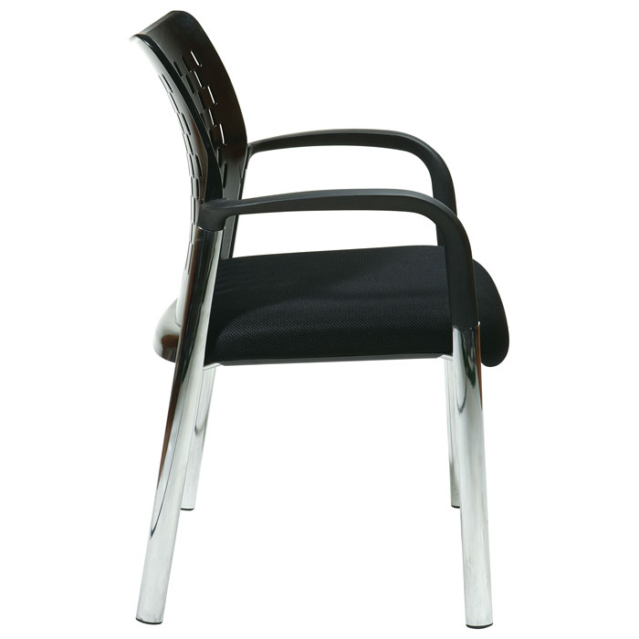 Pro-Line II ProGrid Guest Chair with Chrome Legs (Set of 2) - OSP-17710A2