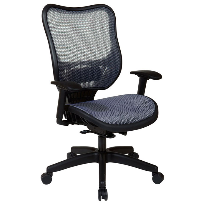Space Seating 18 Series Light AirGrid Seat and Back Executive Chair