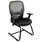 Space Seating 23 Series Professional Visitors Chair with Sled Base