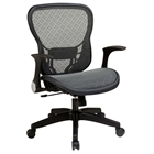 Space Seating 529 Series Deluxe R2 SpaceGrid Office Chair - Flip Arms