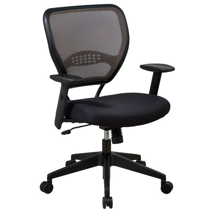 Space Seating 55 Series Deluxe Latte AirGrid Back Manager's Chair