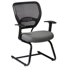 Space Seating 55 Series Professional Visitors Chair with Sled Base