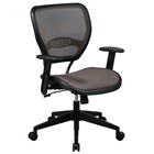 Space Seating 55 Series Latte AirGrid Deluxe Task Chair