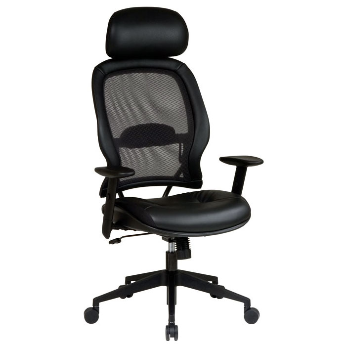 Space Seating 57 Series Professional Leather Office Chair
