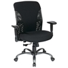 Pro-Line II Ergonomic Black Mesh Back and Fabric Seat Office Chair