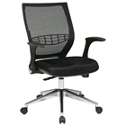 Pro-Line II ProGrid Back Managers Chair with Flip Arms