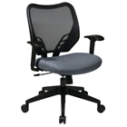 Space Seating 81 Series Blue Mist VeraFlex Seat and AirGrid Back Managers Chair