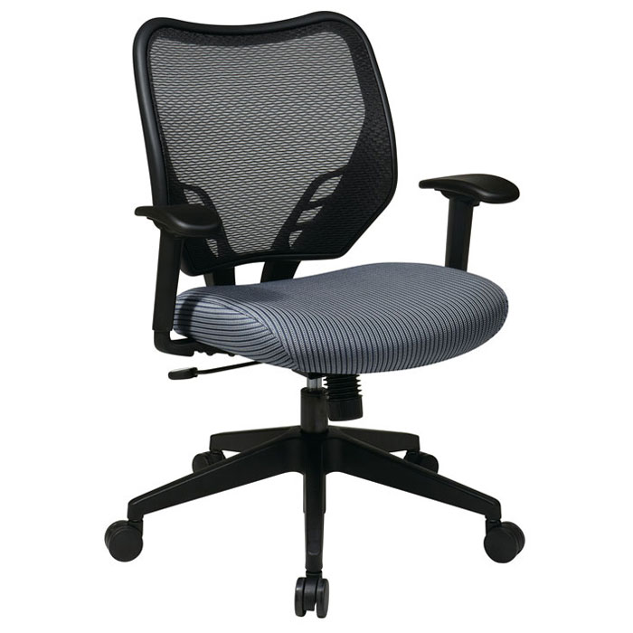 Space Seating 81 Series Blue Mist VeraFlex Seat and AirGrid Back Manager's Chair