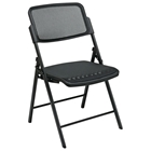 Pro-Line II Folding Deluxe ProGrid Black Chair