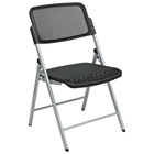 Pro-Line II Deluxe Folding Chair with Silver Legs