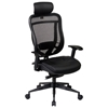 Space Seating 818 Series Executive Leather Seat and Headrest Office Chair