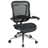 Space Seating 818A Series Executive High Back Mesh Office Chair with Cantilever Arms