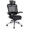 Space Seating 818A Series Executive Office Chair with Mesh Back and Headrest
