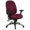 Pro-Line II 8511 - High Back with Custom Seat Cover Multi-Function Office Chair