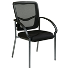 Pro-Line II ProGrid Back Visitors Chair with Nylon Arms