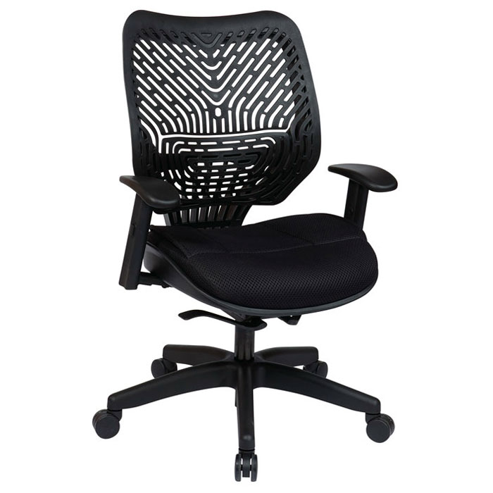 Space Seating 86 REVV Series Raven Manager's Chair with 360 Degree Swivel