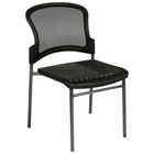 Pro-Line II Stacking ProGrid Seat and Back Visitors Chair (Set of 2)