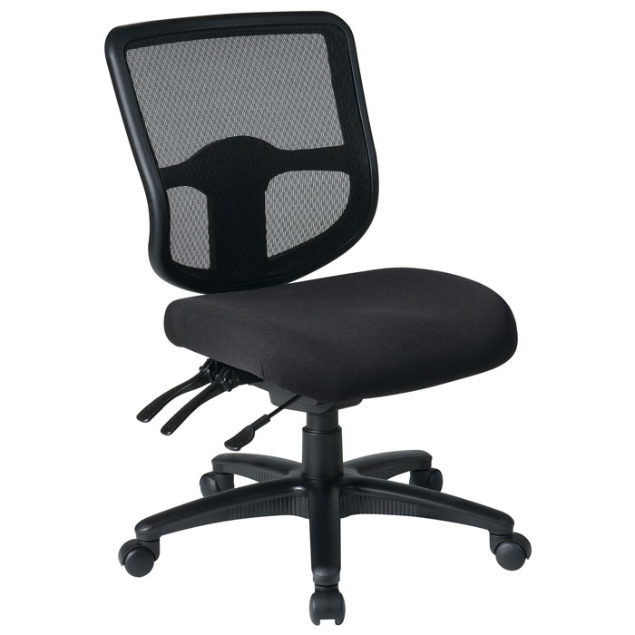 Pro-Line II ProGrid Ergonomic Task Chair with Custom Seat Cover