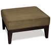 Avenue Six Glen Small Ottoman in Mocha Color