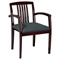 Kenwood Slat Back Guest Chair in Mahogany Finish (Set of 2) - OSP-KEN-992-MAH