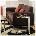 Park Avenue Chocolate Chenille Sofa