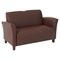 Breeze Contemporary Loveseat in Eco-Leather - OSP-SL2272EC