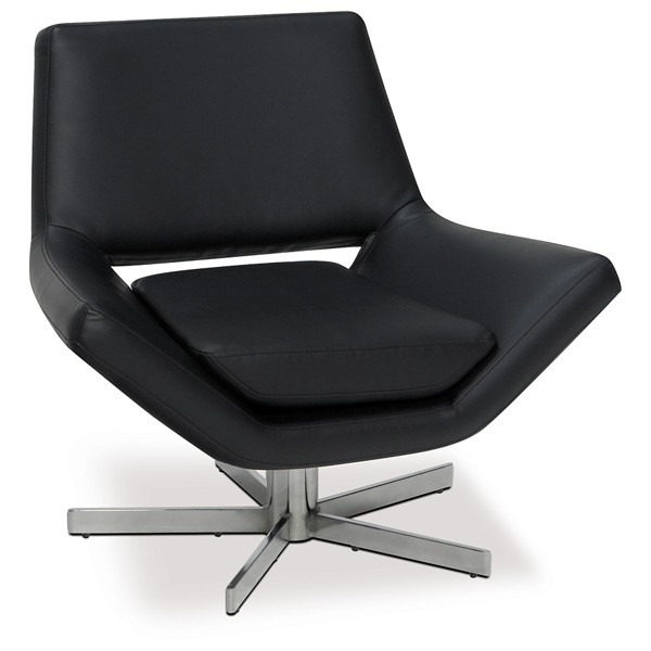 Avenue Six Yield Black 30'' Wide Chair