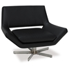 Avenue Six Yield Black 40'' Wide Chair