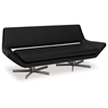 Avenue Six Yield Black 72'' Loveseat