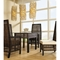 Emperor Dining Side Chair - Crocodile Rattan, Cushion - PAD-EMP12
