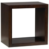 Modulare Wooden Open Back Shelf - Dark Mahogany